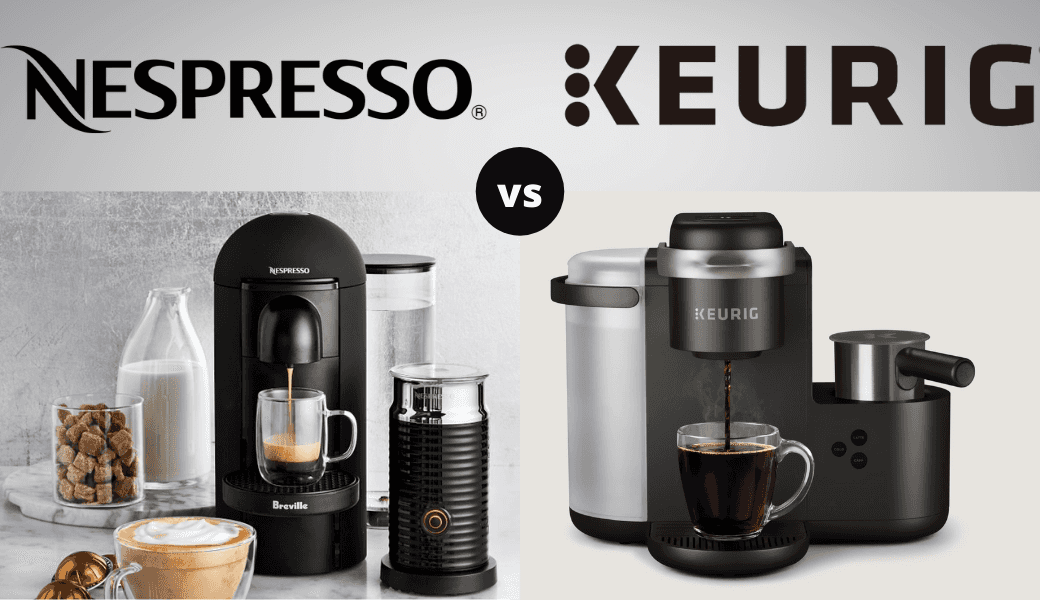 Nespresso Vs Keurig: , The Showdown Between Capsules Vs Pods , (2021 Review) cover image