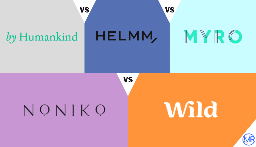 Best Refillable Deodorants:, By Humankind vs. Helm vs. Myro, vs. Noniko vs. Wild - , Don't Stink The Place Up cover image